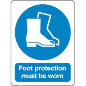Mandatory Safety Sign - Foot Protection 066